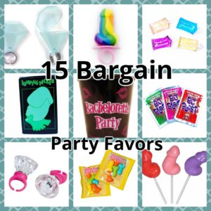 15 Bargain Party Favors