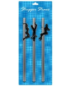 Female Stripper Straws