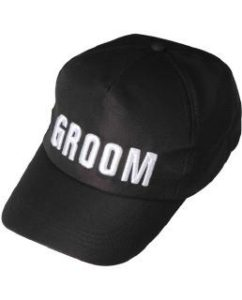 Groom Baseball Hat