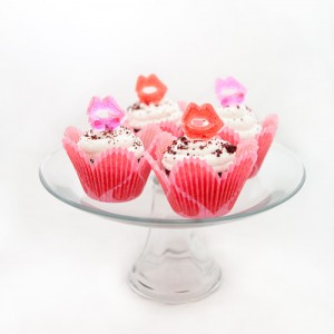 Valentine's Day Cupcake Lip Toppers